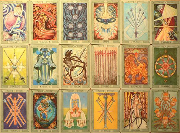Thoth Tarot by Kyknoord
