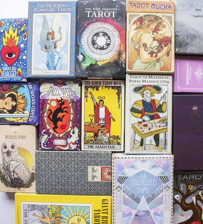 Tarot deck collection: warning, this may happen to you!