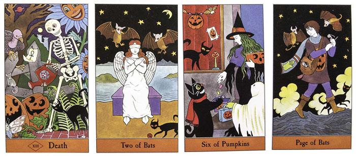 The Halloween Tarot by Kipling West