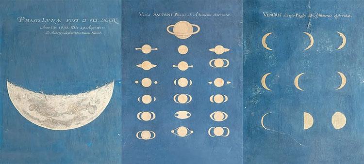Maria Clara Eimmart's Painting Zodiac Moon Phase