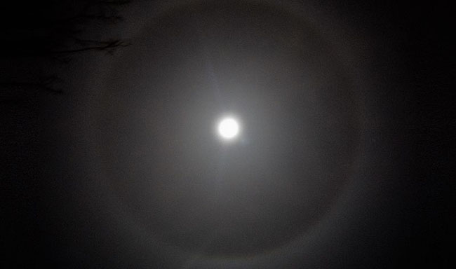 Ring Around the Moon Folklore