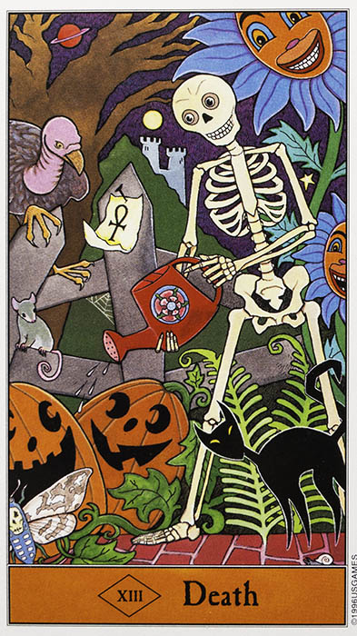 Death Card - Halloween Tarot by Kipling West