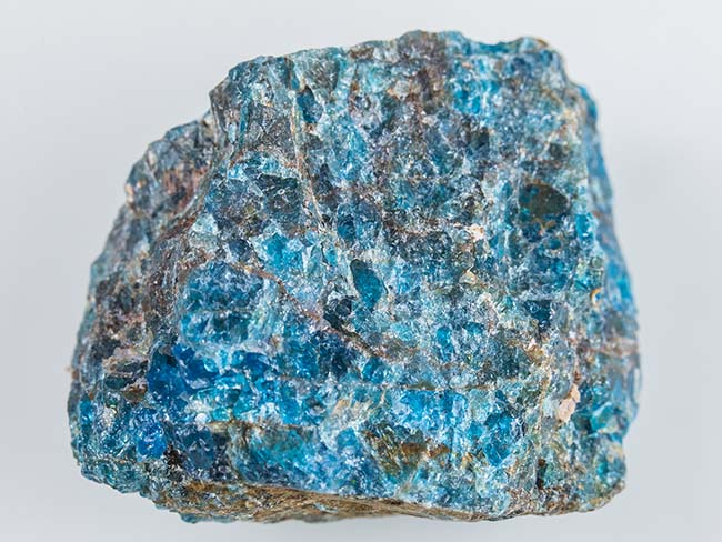 Apatite - Blue - Tarot Cards and Crystals