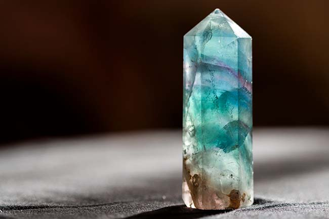 Fluorite - Tarot Cards and Crystals