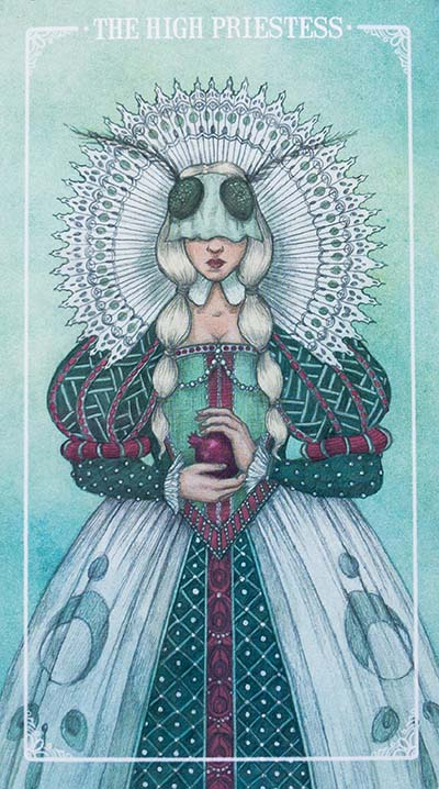 Ostara Tarot High Priestess Card Meaning