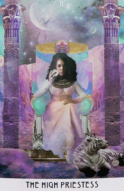 Starchild Tarot High Priestess Card Meaning