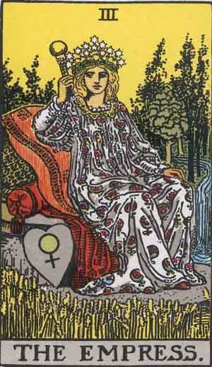 The Empress Tarot Card Meanings