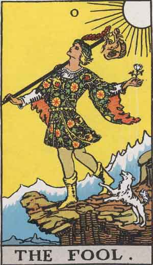 The Fool Tarot Card Meanings