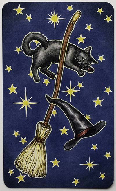 Everyday Witch Tarot Card Backs Review