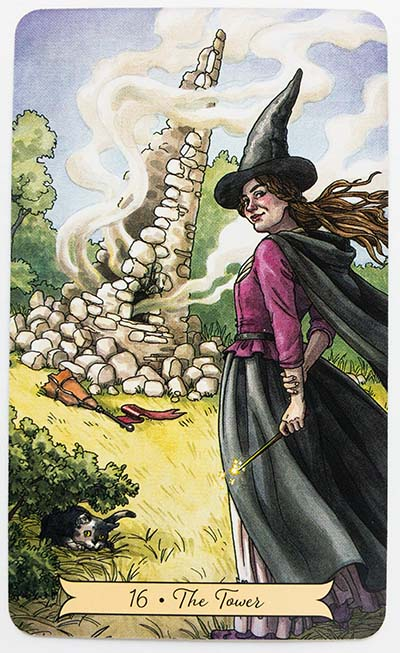 Everyday Witch Tarot Review The Tower