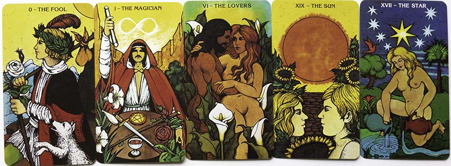 Morgan Greer Tarot Art Major Arcana Cards Review