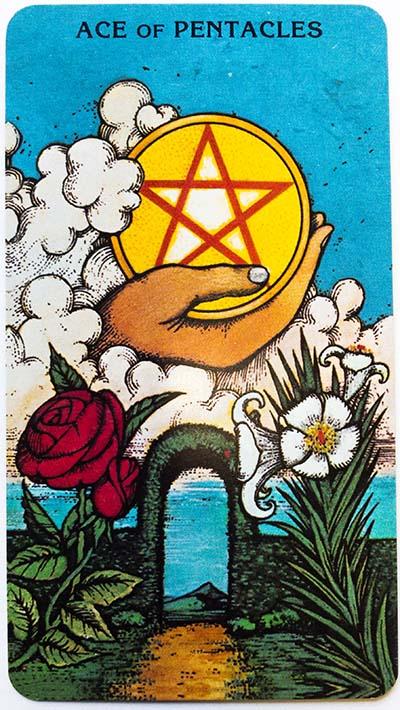 Morgan Greer Tarot Review Ace of Pentacles