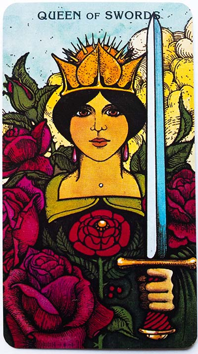 Morgan Greer Tarot Review Queen of Swords
