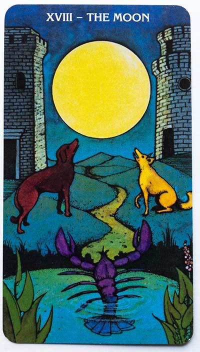 Morgan Greer Tarot Review The Moon