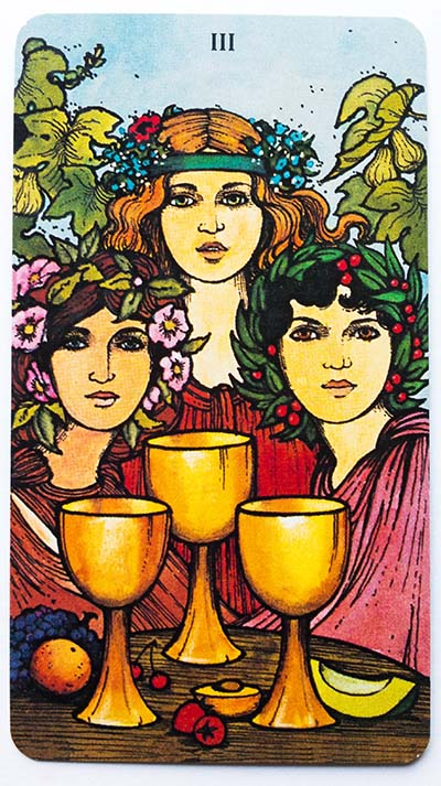 Morgan Greer Tarot Review Three of Cups