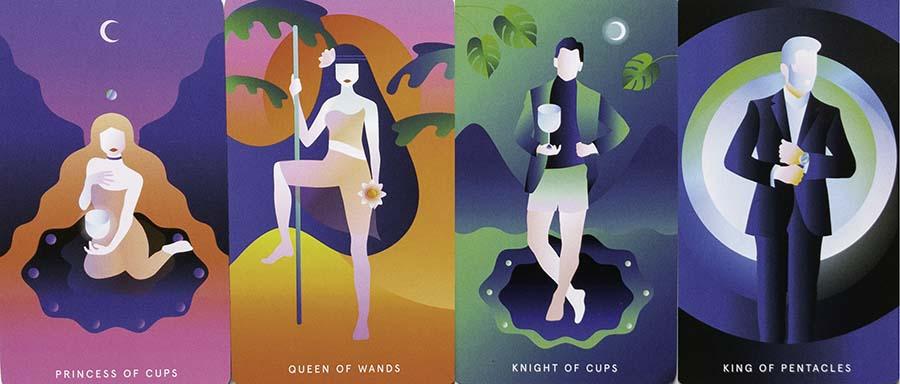 Mystic Mondays Tarot Art Court Cards Review