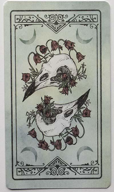 Ostara Tarot Review Card Backs