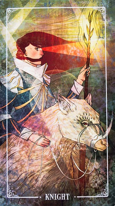 Ostara Tarot Review Knight of Wands