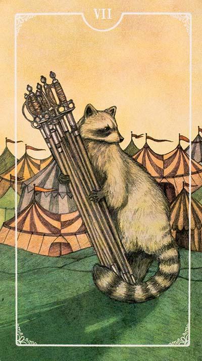 Ostara Tarot Review Seven of Swords