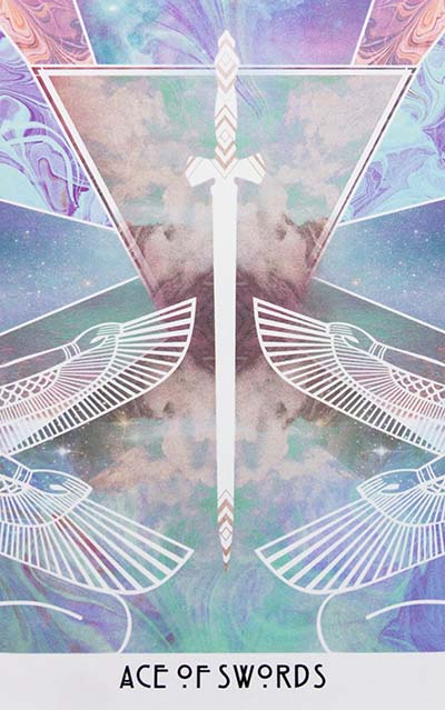 Starchild Tarot Ace of Swords
