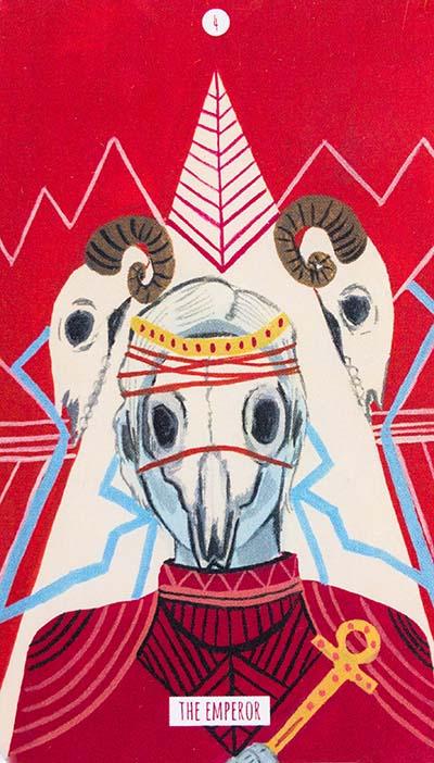 Circo Tarot - Emperor Card Meaning