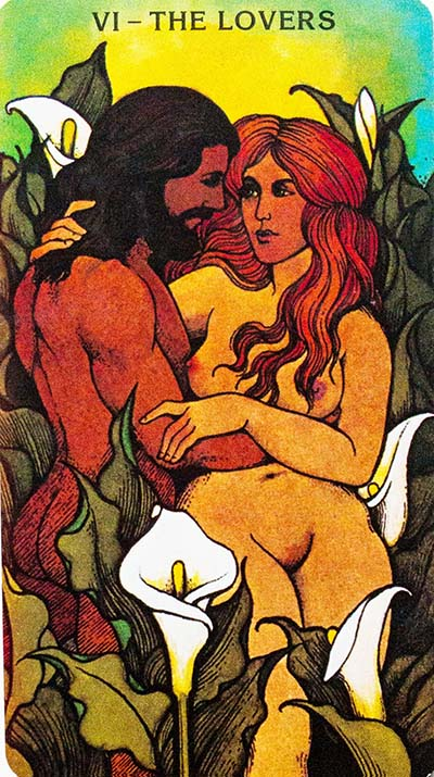 Morgan Greer Tarot - The Lovers Card Meaning