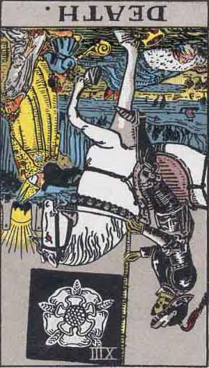 Death Reversed Tarot Card Meanings