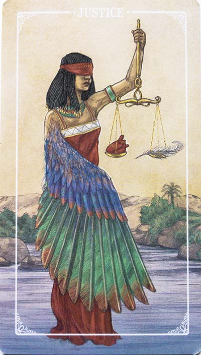 Ostara Justice Card Meaning