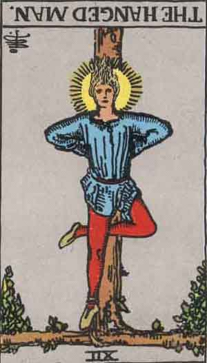 The Hanged Man Reversed Tarot Card Meanings
