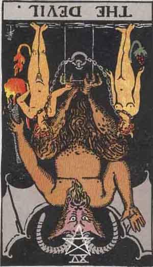 The Devil Reversed Tarot Card Meanings