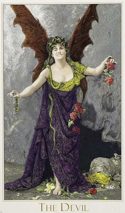 The Devil Tarot Card Meaning - Victorian Romantic Tarot