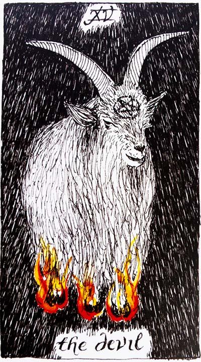 The Devil Tarot Card Meaning - Wild Unknown Tarot