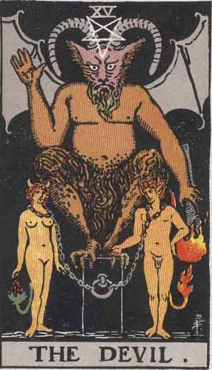 The Devil Tarot Card Meanings
