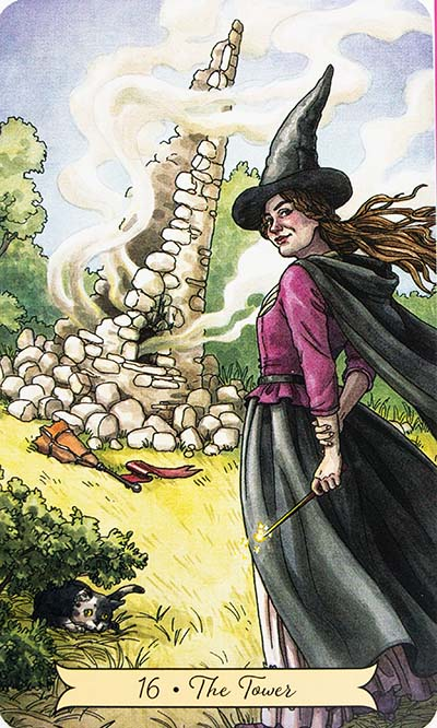 The Tower Tarot Card Meaning - Everyday Witch Tarot