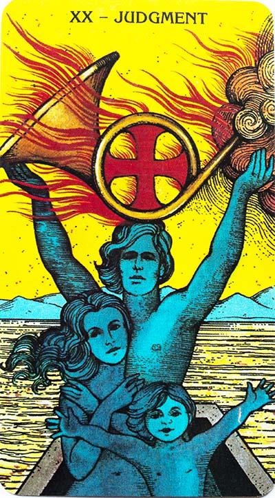 Judgement Tarot Card Meaning - Morgan-Greer Tarot