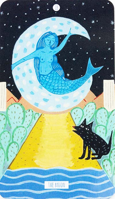 The Moon Tarot Card Meaning - Circo Tarot
