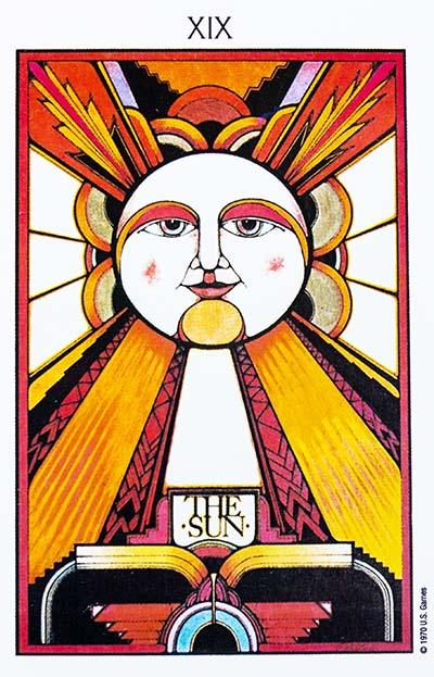 The Sun Tarot Card Meaning - Aquarian Tarot