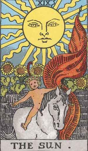 The Sun Tarot Card Meanings