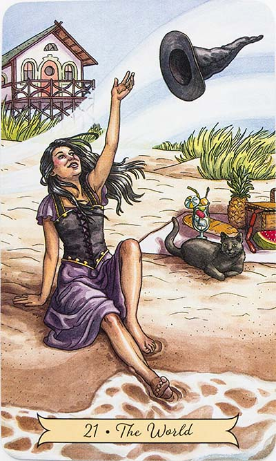 The World Tarot Card Meaning - Everyday Witch Tarot