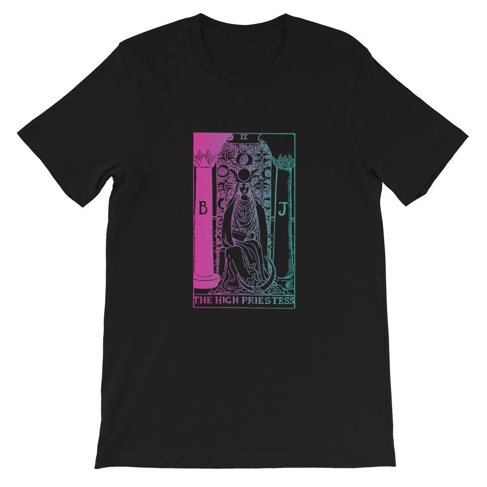 The High Priestess Tarot Card Tarotluv Style T-shirt