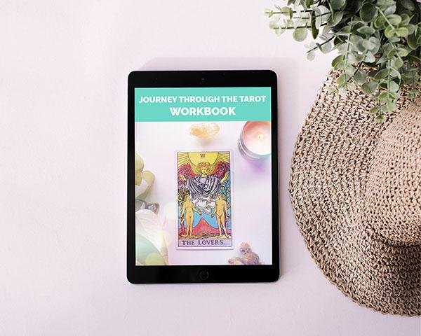 Journey Through Tarot Workbook - Tarotluv