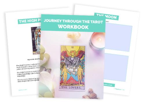 Journeying with Tarot Workbook TarotLuv